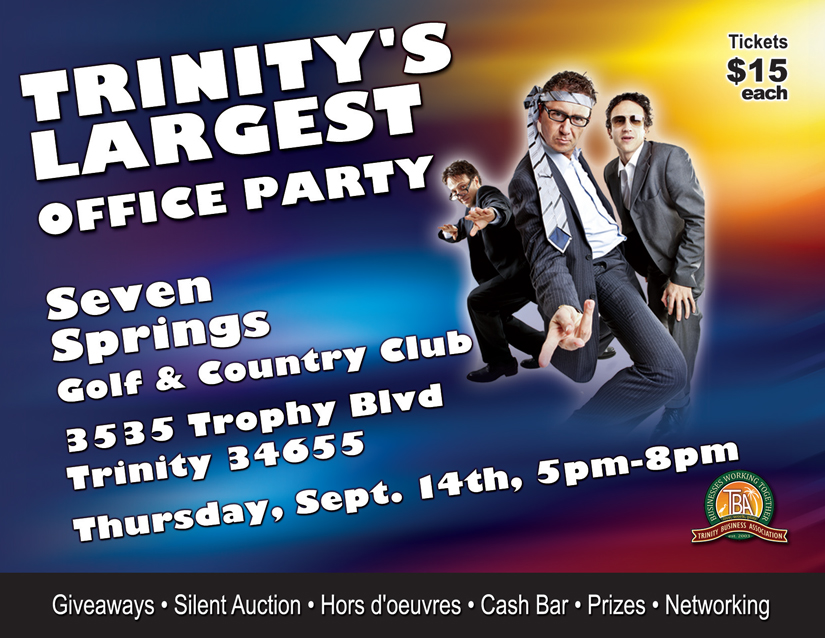 4th Annual Trinity's Largest Office Party @ Seven Springs Golf & Country Club