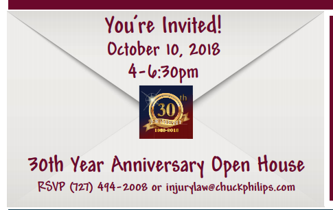 Law Office of Chuck Philips 30th Year Anniversary Open House