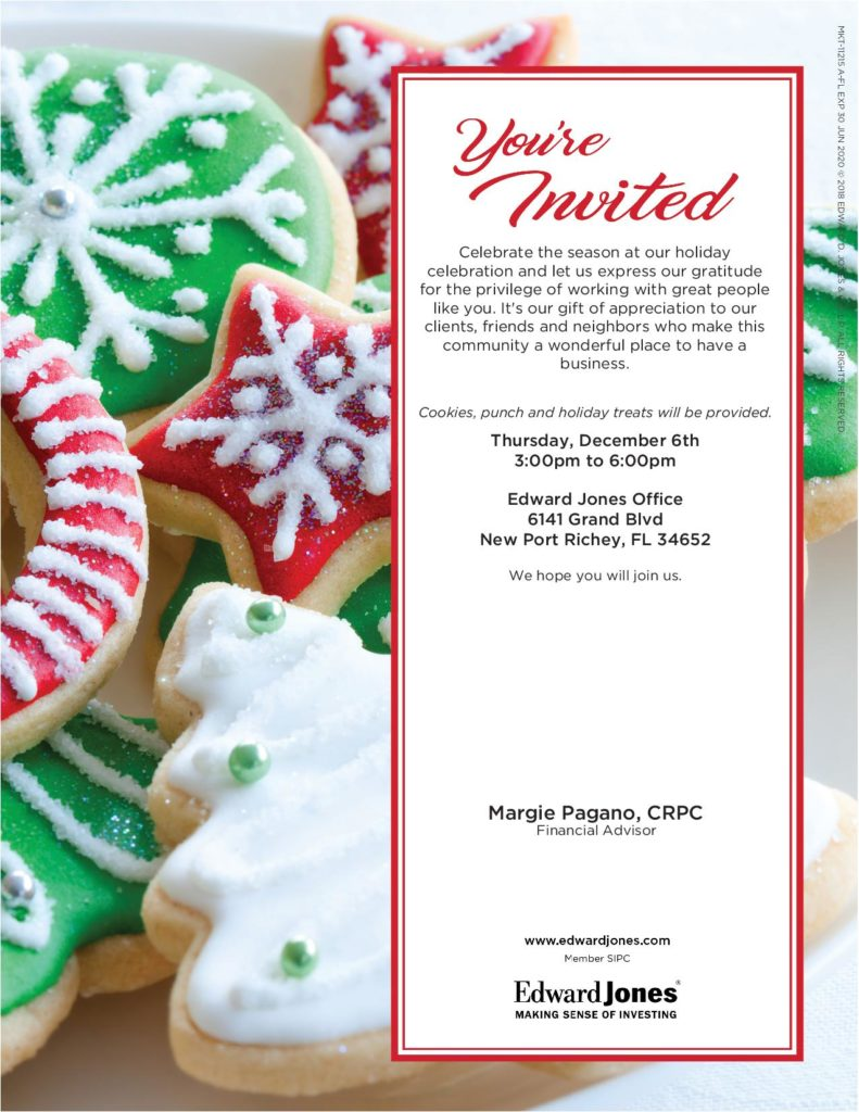 Holiday Open House @ Edward Jones Office